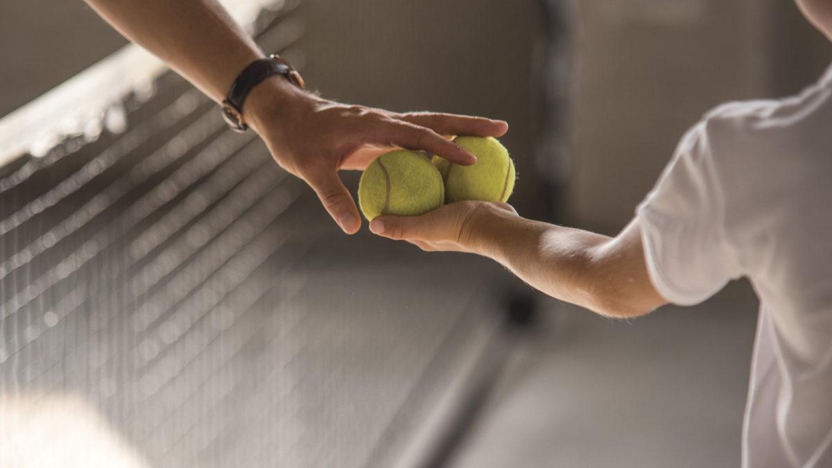 Tata i trener tenisa. Jak połączyć te dwie role?