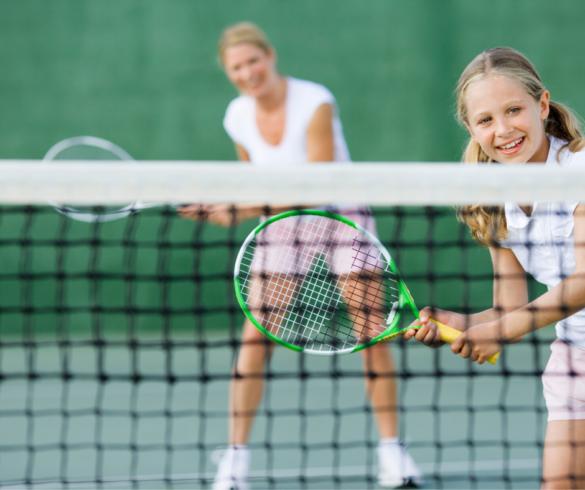 Nadopiekuńczy rodzice tenisisty
