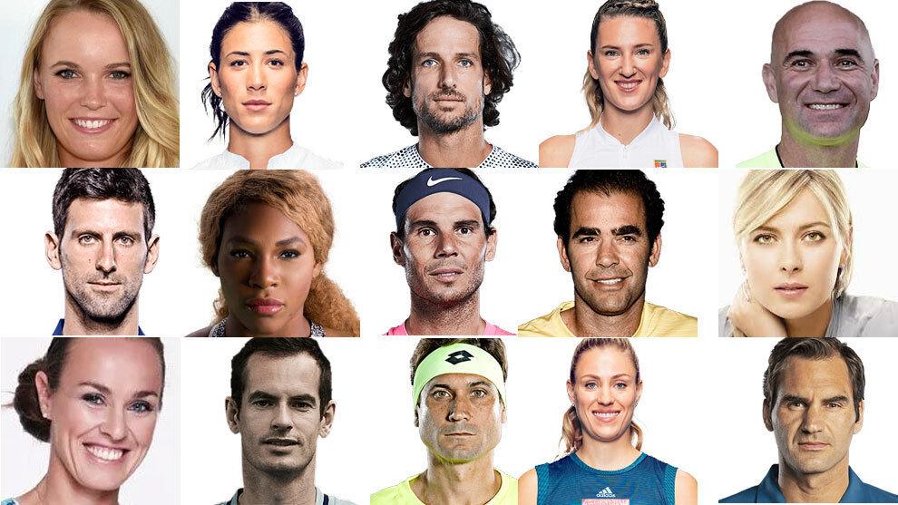 60 najlepiej opłacanych tenisistów w historii